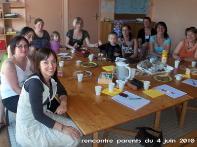 Rencontre parents à l'école, les parents élus racontent -- 14/06/10